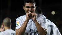 Real Madrid xác nhận Casemiro gãy xương chân, nghỉ 2 tháng