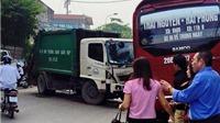 Xe chở rác gây tai nạn liên hoàn trên Quốc lộ 3