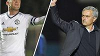 Mourinho đã sẵn sàng cho Rooney ngồi dự bị