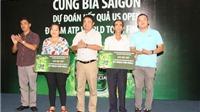 Công bố độc giả trúng giải 'Cùng Bia Saigon dự đoán kết quả US Open đi xem World Tour Finals'