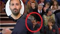 Man United thắng nhọc, Mourinho nổi điên, mắng trợ lý ngay trên đường piste