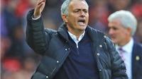 Jose Mourinho: 'Hoà Stoke là trận đấu hay nhất của Man United mùa này'