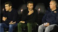 Luis Enrique nhận lỗi vì để Barcelona thua trước Celta Vigo