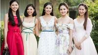 Hoa hậu Ngọc Hân 'tư vấn' giúp các sao mặc đẹp