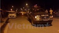 Dân vây bắt tên nghi phạm 9X đâm thủng cổ tài xế cướp taxi