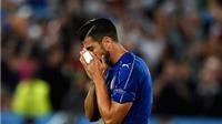 NÓNG: Tiền đạo số một của Italy bị đuổi vì không bắt tay HLV Ventura