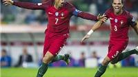 Bồ Đào Nha 6–0 Andorra: Cristiano Ronaldo lập 'poker' ngày trở lại