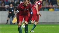 Hai cầu thủ Andorra bị đuổi vì cố gắng triệt hạ Cristiano Ronaldo