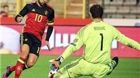 Hazard ghi bàn kiểu Romario, Alderweireld đánh gót ngoạn mục, Bỉ thắng dễ Bosnia