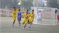 63 đội bóng tranh tài ở giải bóng đá THPT Hà Nội 2016