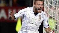 Macedonia 2-3 Italy: Immobile lập cú đúp giải cứu Italy, Pelle có thấy hối hận?