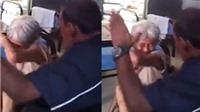 Cư dân mạng căm phẫn người đàn ông tát một cụ già