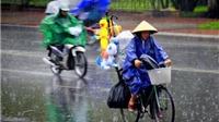 Áp thấp nhiệt đới đi sâu vào đất liền, Trung Bộ đến Nam Bộ có mưa dông