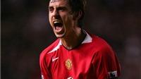 Gary Neville vẫn chưa quên màn ăn mừng 'điên rồ' ở trận Man United - Liverpool