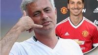Ibrahimovic sang Man United chỉ sau 1 câu nói của Mourinho