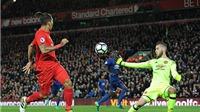 Liverpool 0-0 Man United: De Gea giúp 'Quỷ đỏ' rời Anfield với 1 điểm