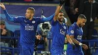 Hạ Copenhagen, Leicester toàn thắng cả 3 trận Champions League, chưa thua bàn nào