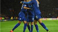 Toàn thắng cả 3 trận, Leicester lập kỷ lục ở Champions League