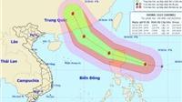 Cập nhật tin bão số 7 (tin hồi 9h): Bắc Biển Đông có gió mạnh dần lên cấp 8-12