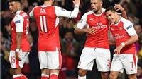 Arsenal 6–0 Ludogorets: Oezil lập hat-trick, 'Pháo thủ' đại thắng kiểu tennis