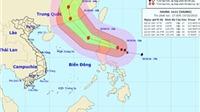 Siêu bão HAIMA giật cấp 16, Tây Nguyên và Nam Bộ đề phòng dông lốc
