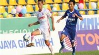HAGL với nửa quân V-League chia điểm Than Quảng Ninh