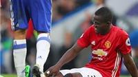 Man United nhận hung tin về Eric Bailly sau trận thua Chelsea