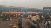 Tai nạn nghiêm trọng, tàu hỏa đâm ô tô, 5 người chết, 2 người bị thương