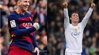 Messi và Ronaldo chỉ là 'em út' trong Top 10 VĐV GIÁ TRỊ nhất thế giới