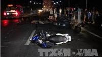 Gây tai nạn chết người, tài xế container cuống cuồng bỏ trốn