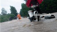 Quảng Bình: Mưa lớn, lũ chồng lũ, hàng trăm nhà dân bị ngập