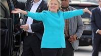 Bà Clinton đã chuẩn bị pháo hoa ở New York mừng thắng cử
