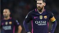 Messi gây gổ ở trận gặp Man City: UEFA đã có kết luận