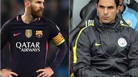 Arteta phủ nhận chuyện gây sự và 'lăng mạ' Messi
