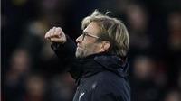 Juergen Klopp nói gì sau khi Liverpool dẫn đầu bảng xếp hạng Premier League?
