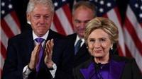 Cảm động đằng sau bộ đồ màu tím của bà Hillary Clinton trong bài phát biểu sau thất bại