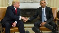 Donald Trump khen Barack Obama là 'người đàn ông rất tốt'