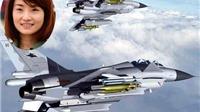 Nữ phi công xinh đẹp nổi tiếng Trung Quốc thiệt mạng trên chiến đấu cơ J-10