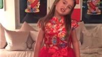Dân Trung Quốc phát sốt với clip cháu ngoại Donald Trump ngâm thơ Lý Bạch