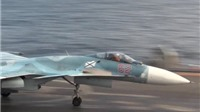 Máy bay chiến đấu từ tuần dương hạm 'Đô đốc Kuznetsov' tiêu diệt hàng chục chiến binh