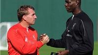 Brendan Rodgers: 'Balotelli nói đúng đấy, tôi là HLV tệ nhất của cậu ấy'