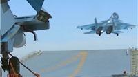 VIDEO: 'Đột nhập' tàu sân bay Nga đang 'nghênh chiến' tại Syria