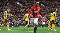 ĐIỂM NHẤN Man United 1-1 Arsenal: Juan Mata hay nhất. Để Giroud dự bị là lãng phí