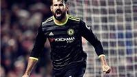 Diego Costa tiến sát tới kỉ lục ghi bàn của Jamie Vardy