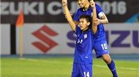 Thái Lan 'khoan thủng' hàng phòng ngự Singapore, giành vé vào bán kết
