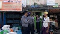 Myanmar: Sau vụ nổ siêu thị, trụ sở chính quyền khu vực Yangon bị đánh bom