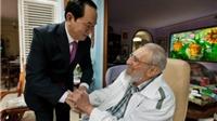 Cuộc gặp gỡ giữa Chủ tịch nước Trần Đại Quang và Lãnh tụ Fidel Castro đã đi vào lịch sử