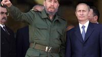 Tổng thống Putin: 'Ký ức về lãnh tụ Fidel sống mãi trong tim người Nga'