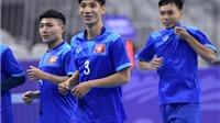 Tuyển futsal Việt Nam tập nhẹ, tự tin gặp đối thủ hạng 10 thế giới