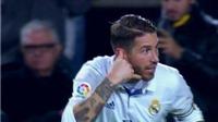 Sergio Ramos gây sốt với màn ăn mừng kiểu NGHE ĐIỆN THOẠI ở trận 'Kinh điển'